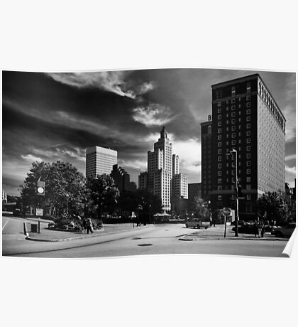 Downtown Providence Poster