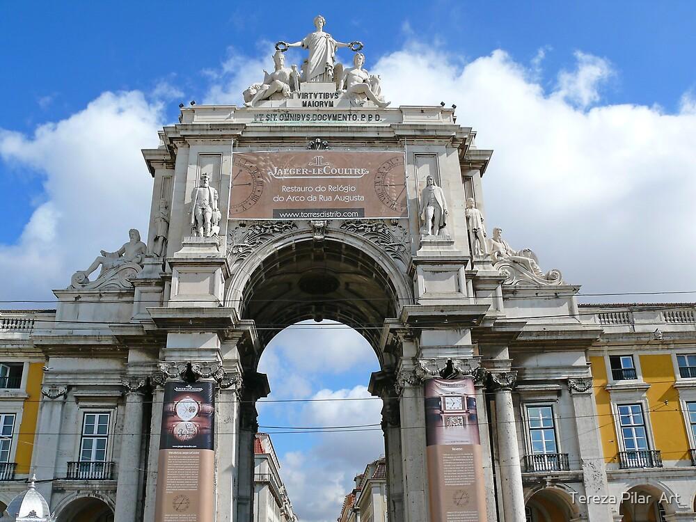 Arco da Rua Augusta by terezadelpilar~ art & architecture