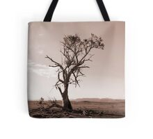 Lonely old Paddock Tree Tote Bag