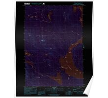 Maine USGS Historical Map Middle Dam 102747 1997 24000 Inversion Poster