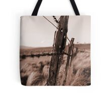 Barbed Fence Tote Bag