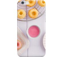 Mini bundt cakes iPhone Case/Skin