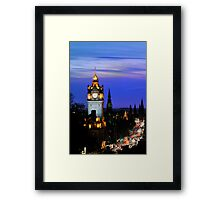 Classic Edinburgh Framed Print
