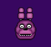 Five Nights at Freddy's 1 - Pixel art - Bonnie by GEEKsomniac