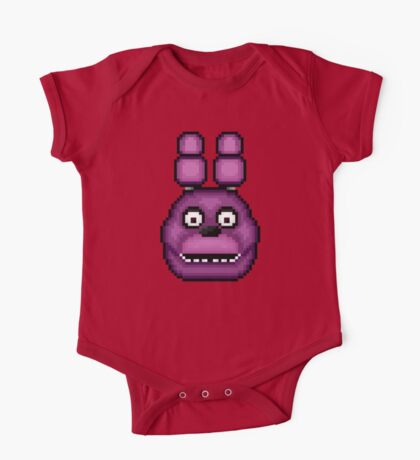 Five Nights at Freddy's 1 - Pixel art - Bonnie One Piece - Short Sleeve