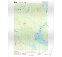 Maine USGS Historical Map Middle Dam 102747 1997 24000 Poster