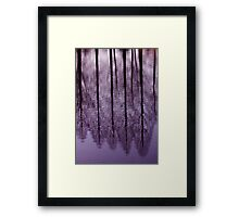 Water Trees - JUSTART © Framed Print