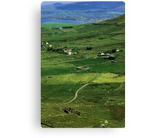 Irish county Canvas Print