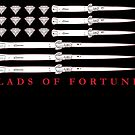 Diamonds and Daggers american Flag by huliodoyle