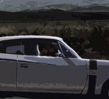 Fast car, open high way Sticker