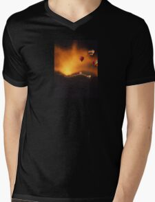 Hide and seek Mens V-Neck T-Shirt