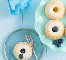 Mini bundt cakes by Elisabeth Coelfen