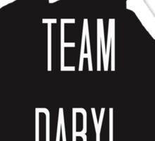 Team Daryl  Sticker