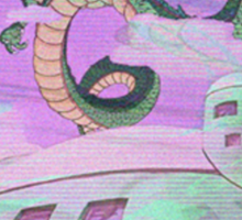 Sad Dragon Ball Z Sticker