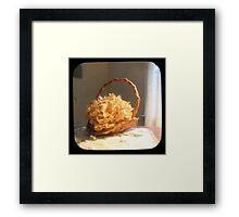 Hydrangea Basket TTV Framed Print