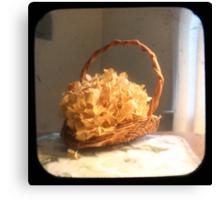 Hydrangea Basket TTV Canvas Print