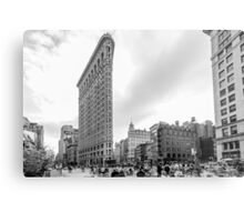 Flat Iron New York Metal Print