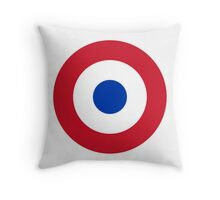 Roundel of the Paraguayan Air Force Throw Pillow