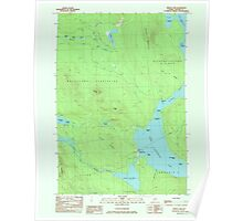 Maine USGS Historical Map Middle Dam 808085 1984 24000 Poster