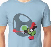 Yoshi & Baby Mario - Sunset Shores Unisex T-Shirt