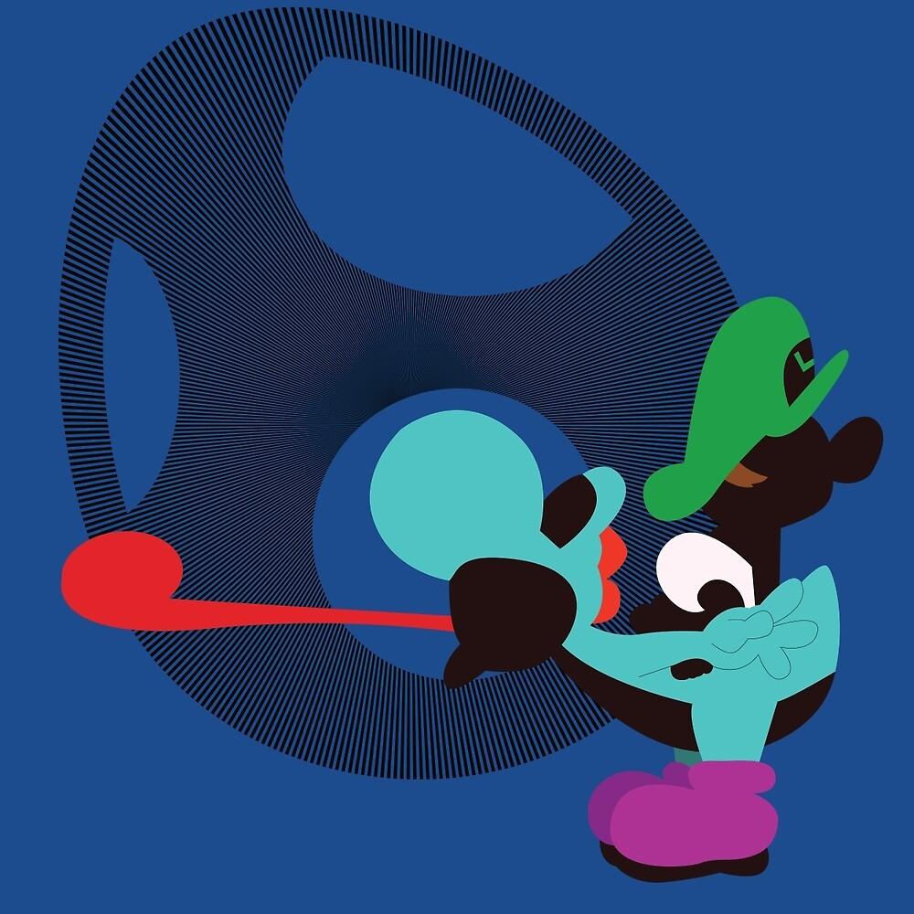 """""""Yoshi & Baby Luigi"""" by Kevandre"""