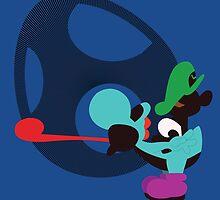 Yoshi & Baby Luigi by Kevandre