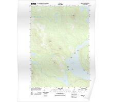 Maine USGS Historical Map Middle Dam 20110902 TM Poster
