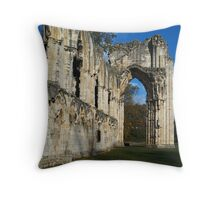 St. Mary's Abbey 2 Throw Pillow