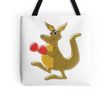 Boxing Kangaroo Design Tote Bag