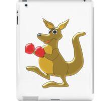 Boxing Kangaroo Design iPad Case/Skin