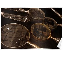 Magnifying Reflections Poster