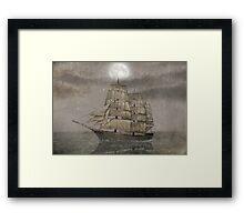 Night Journey  Framed Print