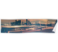 Gateway To Sheffield Panorama Poster