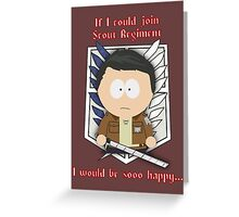 Attack on South Park Greeting Card