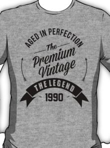 Vintage 1990 Aged To Perfection T-Shirt
