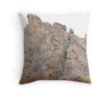 Garden of the Gods Rocks Throw Pillow