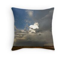 Concentrated rain! Throw Pillow