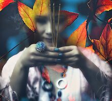 Autumn prayer by Antoine Dagobert