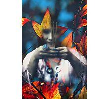 Autumn prayer Photographic Print