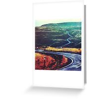 Speed of Light Greeting Card