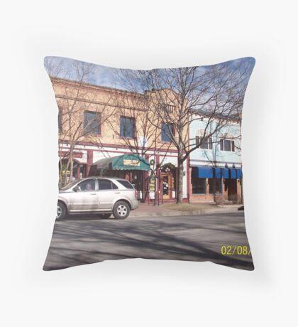 Old Colorado City, Colorado Springs Throw Pillow