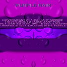 Purple Rain by Gail Bridger