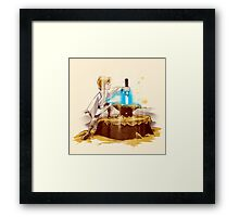 A New King Framed Print