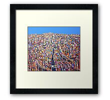 The only way home Framed Print
