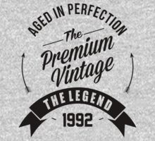Vintage 1992 Aged To Perfection by Orphansdesigns