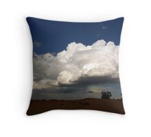 Tension building Throw Pillow
