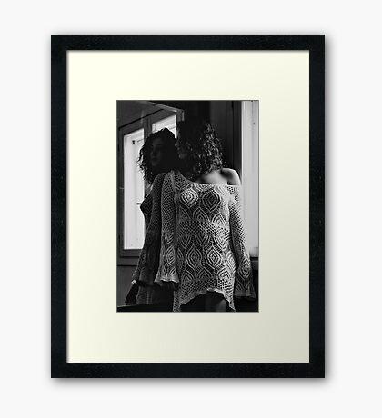 Que Nos Vies Aient L'air D'un Film Framed Print