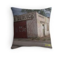 Old Grants, New Mexico Throw Pillow