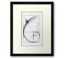 Golden Ratio - Large Framed Print