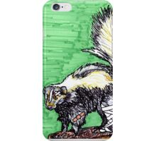 Skunk iPhone Case/Skin